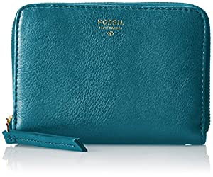 Fossil Sydney Function Wallet,Dark Turquoise,One Size