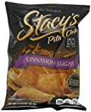Stacys Pita Chips, Cinnamon Sugar, 1.5-Ounce Bags (Pack of 24)