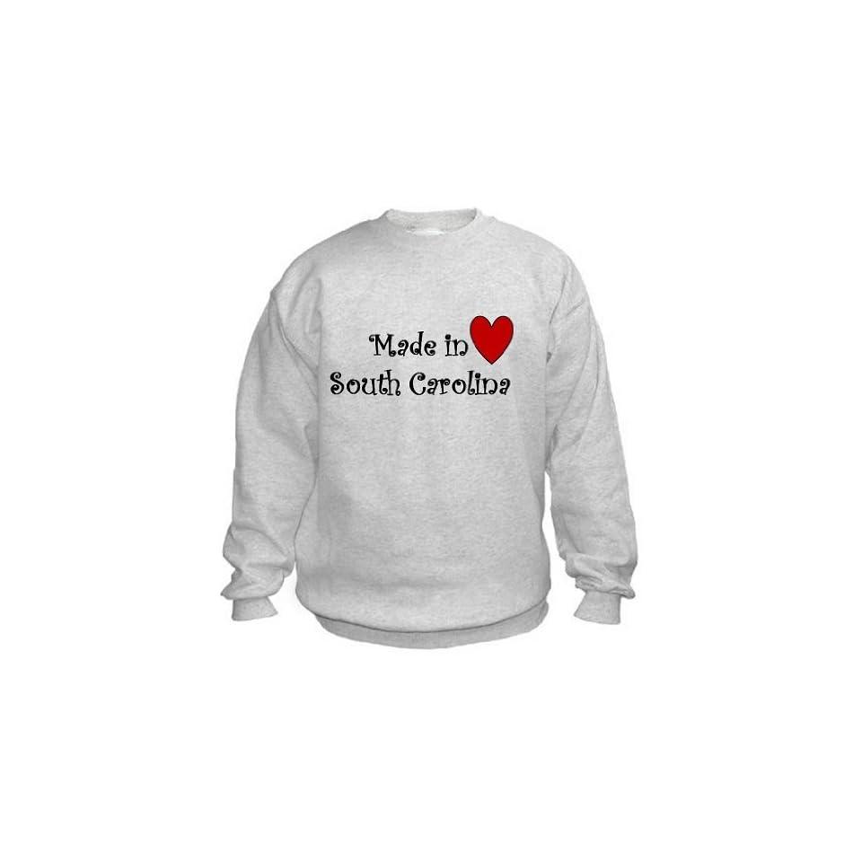 MADE IN SOUTH CAROLINA   State series   Light Grey Sweatshirt   size Large