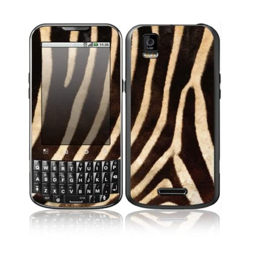 Zebra Print Design Decorative Skin Cover Decal Sticker for Motorola Droid XPRT Cell Phone