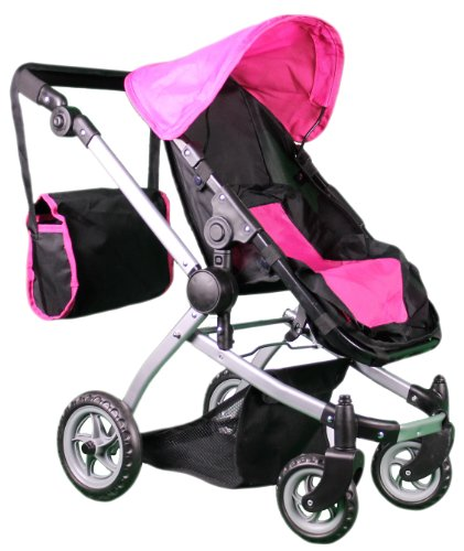 Mommy & Me Deluxe Babyboo Doll Stroller front-890162