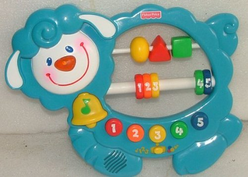 Fisher Price Musical Lamb with Beads. 1999 - 1