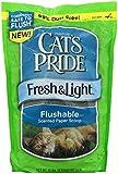 Cat's Pride 47310 Fresh and Light Flushable Paper Litter