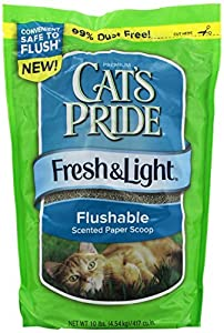 Amazon Com Cat S Pride 47310 Fresh And Light Flushable