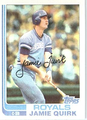 1982 Topps # 173 Jamie Quirk Kansas City Royals Baseball Card
