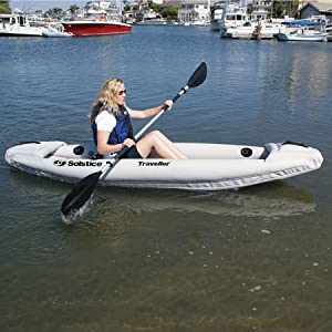 Traveller Inflatable 1 Person Kayak by Solstice
