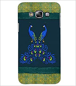 PrintDhaba Peacock D-4601 Back Case Cover for SAMSUNG GALAXY GRAND MAX (Multi-Coloured)