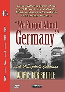 40s Britain - We Forgot About Germany [DVD]