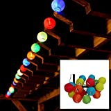 LiteXim-Led-String-Light-Waterproof-Solar-Christmas-Lights-1968ft-6m-30-LED-2-Modes-Chinese-Lantern-Solar-String-Lights-for-Outdoor-Gardens-Homes-Wedding-Christmas-PartyPurple