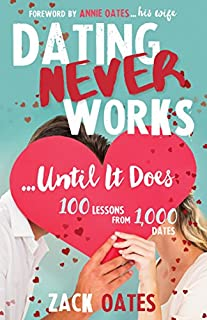 Book Cover: Dating Never Works . . . until It Does: 100 Lessons from 1,000 Dates