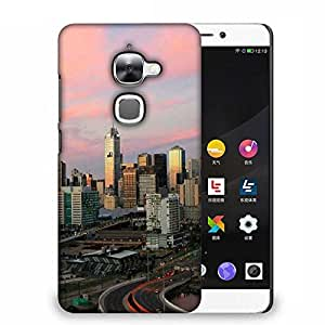 Snoogg Roads In City Designer Protective Phone Back Case Cover For Samsung Galaxy J1
