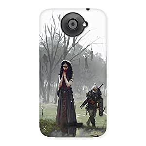 Ajay Enterprises Betrayed Back Case Cover for HTC One X