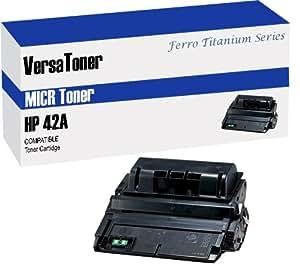 VersaToner - HP 42A (Q5942A) Black (MICR) - Toner Cartridge