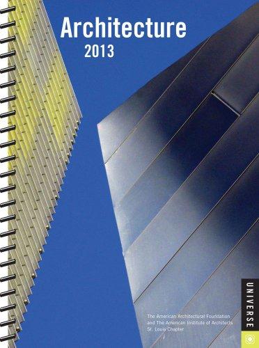 Architecture 2013 Engagement Calendar