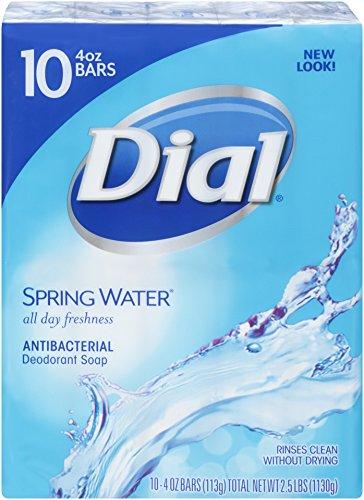 dial-antibacterial-deodorant-bar-soap-spring-water-4-ounce-bars-10-count-pack-of-3