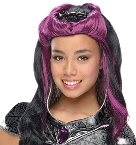 Rubie's Costume Co - Ever After High - Raven Queen Wig with Headpiece