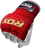 RDZG3085 RDX インナーグローブ ボクシング MMA 各色/サイズ (赤, S)