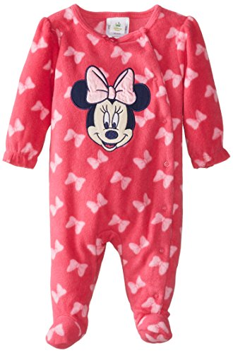 Disney Baby Baby-Girls Minnie Mouse Sleep And Play, Fuschia Multi, 6/9 Months front-827052