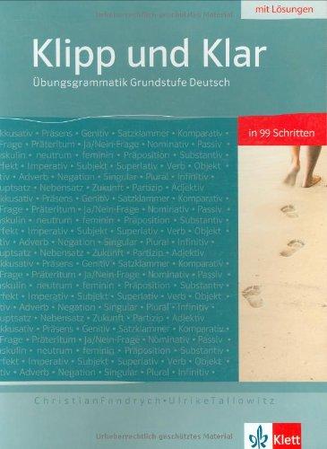 Klipp und Klar, Übungsgrammatik für die Grundstufe Deutsch