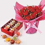ダロワイヨ マカロン ラスク カーネーション 鉢植え 母の日 人気商品 プレゼント 贈り物 ランキング ギフト 花とスイーツ