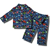 Thomas the Tank Engine with Percy and James 2 piece Flannel Pajamas for toddlers