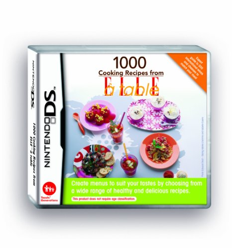 1000 Cooking Recipes From ELLE à Table  (Nintendo DS)