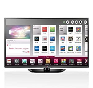 LG 60PN5700 60-Inch Class 1080P 600Hz Plasma TV with Smart TV