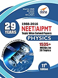 29 Years NEET AIPMT Topic-wise Solved Papers Physics 1988 to 2016