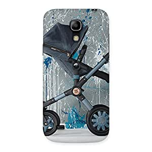 Gorgeous Denim Baby Print Back Case Cover for Galaxy S4 Mini