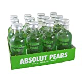 Absolut Pears Vodka 5cl Miniature - 12 Pack