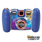 Vtech Kidizoom Twist Plus Camera + Hard Carry Case - Blue (3-9 Years)