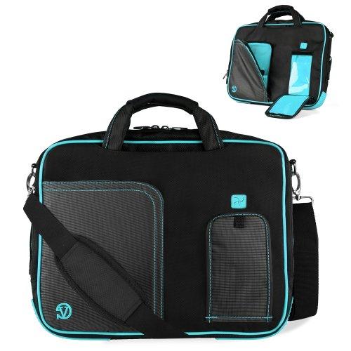 Uniquely Designed Vangoddy Aqua Marine Blue Ultra Durable Reinforced 15 Inch Pindar Sports Bag For All Models Of The Samsung Series 3 Np305V5A1 Ultrabook!!!