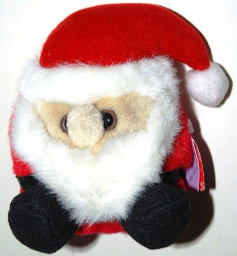 """Puffkins Ho Ho Santa 5"""" Plush - 1"""