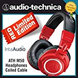 AUDIO TECHNICA ATH-M50RD LIMITED EDITION