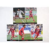 Jカード2013/1st 【ファジアーノ岡山】 ホロパラレルカード全5種