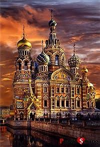 [Bluecastle] 1000ピース ジグソーパズル サンクトペテルブルクの大聖堂