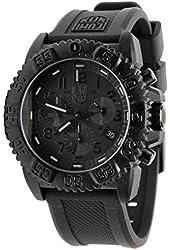 Luminox Rubber Strap Black Chronograph Men's Watch - 3081.BO