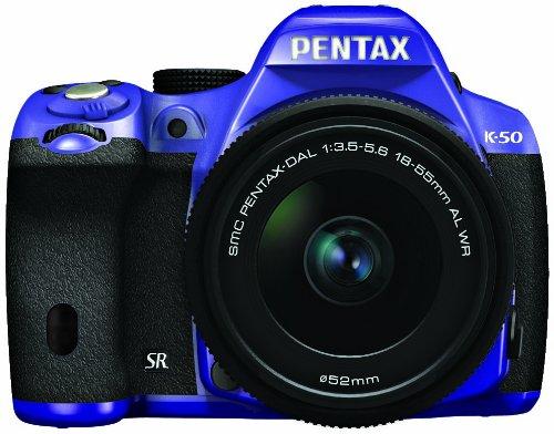 RICOH デジタル一眼レフ PENTAX K-50 DAL18-55mmWRレンズキット バイオレット/ブラック 082 K-50 L18-55WR KIT VIOLET/BLACK 082 11236