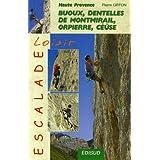 Escalade loisir en Haute Provence : Buoux, Dentelles de Montmirail, Orpierre, Céüse...