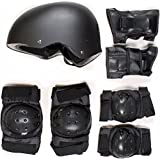 SKATEBOARD / SKATE PROTECTION SET WITH HELMET elbow knee pads for kids scooter BMX skate board