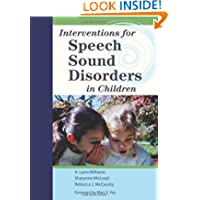 Interventions for Speech Sound Disorders (Communication and Language Intervention) (Communication and Language...