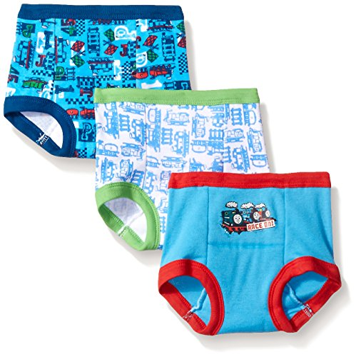 buy Handcraft Toddler Boys' Thomas 3 Pack Training Pant, Assorted, 3T for sale