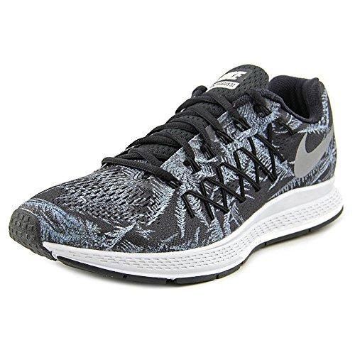 2bbdd893dee Nike Men s Air Zoom Pegasus 32 Solstice Blck Rflct Slvr Pr P Running Shoe