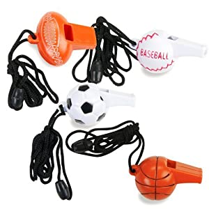 Click to buy Sport Whistles Assortedfrom Amazon!