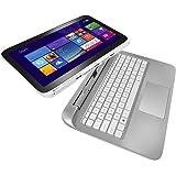 "13.3"" HP 13-r010dx x2 Detachable Laptop Tablet Intel Core i3-4021Y 4GB RAM 500GB + 8GB Hybrid HDD BeatsAudio Bluetooth Windows 8.1 Snow White/Ash Silver (Certified Refurbished)"