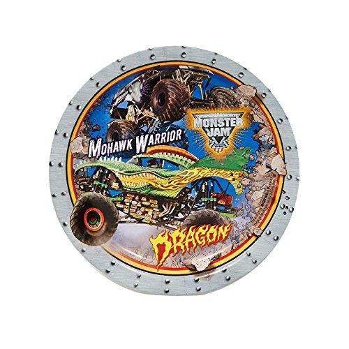 Monster Jam 3D Dessert Plates (8) - 1