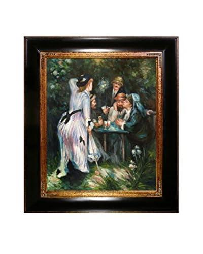 Pierre Auguste Renoir In The Garden Oil Painting
