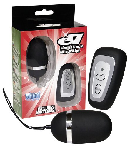 You2Toys Velvet Egg Vibrator with Remote Control