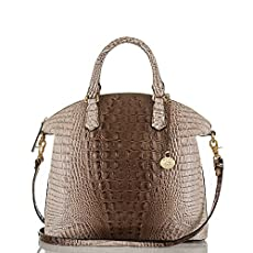 Large Duxbury Satchel<br>Amaretto Melbourne