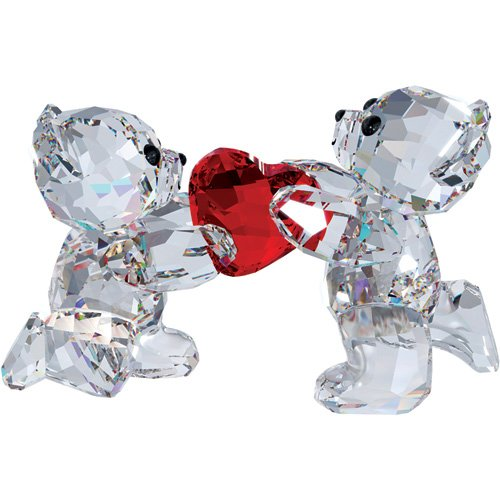 Swarovski crystal kris bear my heart is yours figurine for Swarovski decoration crystals